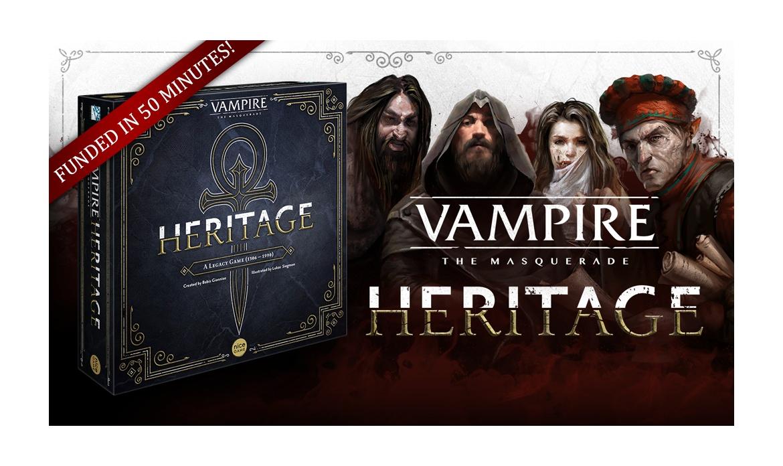 Designer Blog: Vampire: the Masquerade – Heritage
