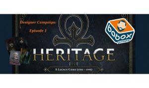 Babis' Vampire the Masquerade: Heritage Campaign! (Episode 1)